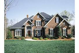 new american house plans. Brilliant American Eplans New American House Plan U2013 Distinguished Brick Home 25  With Plans N