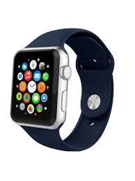 <b>Ремешок спортивный EVA</b> для Apple Watch 42/44 mm Синий ...