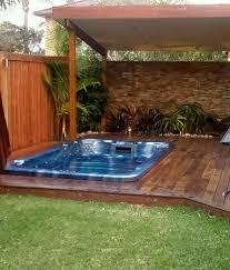 Elegant Small Backyard Oasis Ideas Small Backyard Tropical Oasis Tropical  Garden Pool Surround