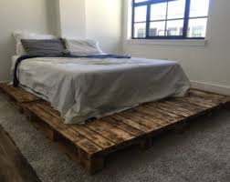 pallet furniture etsy. pallet platform bed available in queen king full u0026 twin size furniture etsy r