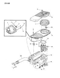1988 chrysler lebaron base air cleaner diagram 00000zhg