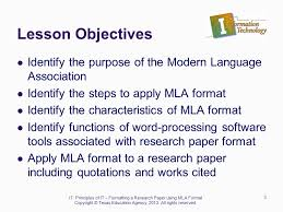 Research Essay Mla Format Mla Style For Research Papers Virtek
