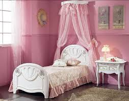 Bedroom: Little Girl Canopy Bedroom Sets