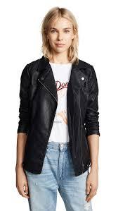 bb dakota jack by bb dakota can t be tamed vegan leather moto jacket in
