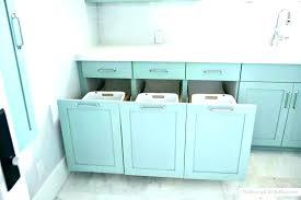 bathroom hamper cabinet built bathroom laundry hamper cabinet