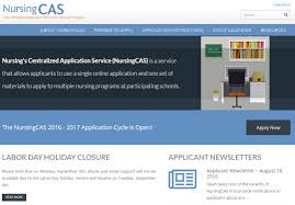 nursingcas application mynursingcas applicants complete one application select programs of interest submit any additional supporting materials such as references essays etc