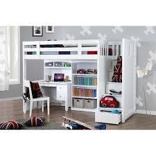 best king single bunk bed my design bunk bed wstair desk whutch bookcase white 800x800
