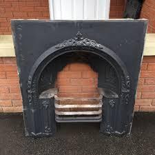 antique cast iron fireplace grate vintage fire place fire surround hob grate