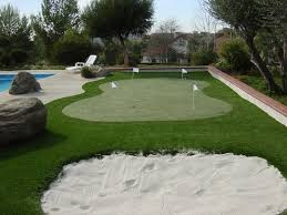 home putting greens