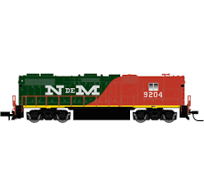ATLAS 40002307 N Scale GP38-2 NdeM 9204 Locomotive