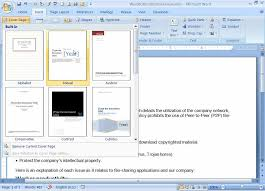 how to create a resume on microsoft word 2007 working more efficiently with word 2007s new building blocks