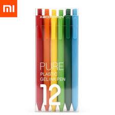 Техника <b>Xiaomi</b> - <b>Ручки гелевые</b> KACO Pure Plastic Gelic Pen (12 ...