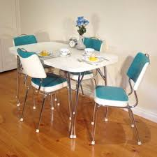 1950s Dining Room Furniture Gorgeous Banquete Design Retro Kitchen Table And Chairs Shiny