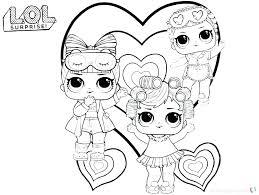 Doll Coloring Page Doll Coloring Pages Doll Coloring Pages Surprise