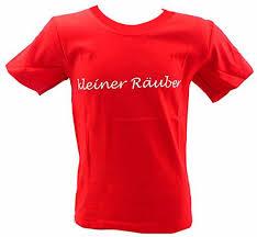 Kinder Hemd Rot Lustige Sprüche T Shirts 3 4 Jahre Kleiner Räuber
