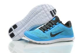 nike running shoes for men blue. wmns nike free 3.0 v5 sky blue running shoes with soft sole and black logo for men lrpdgqp f