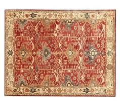 style rug pottery barn outdoor rugs canada tufted wool red
