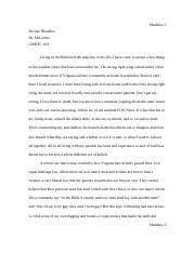 gwrtc critical reading and writin jmu course hero 4 pages gwrtc 103 personal narrative essay