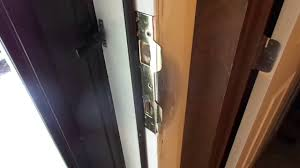 How to repair a damaged door jamb and strike after being KICKED IN ...