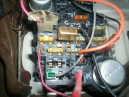 fuse panel in chevrolet motorhome rv fuse panel fuse panel in my shasta motorhome it s located up under the left side of the