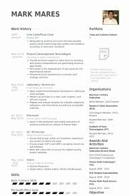 Cook Resume Objective Best Of 24 Lovable Resume Objective For Line Cook Sierra