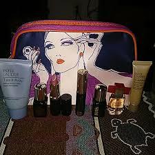 7pc new estee lauder beauty set new makeup bag