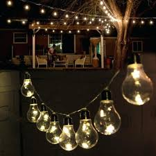 outdoor edison light strings