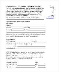 property offer letter templates 10