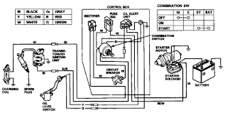 honda gx wiring diagram honda wiring diagrams