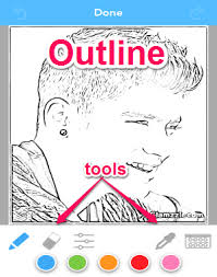 Small Picture Convert Your Photos Into Coloring Pages iPhone I Love Free