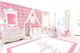 Wallpaper For Little Girl Room Luxurious Pink And White Nursery Project  Nursery Wallpaper Baby Girl Room .