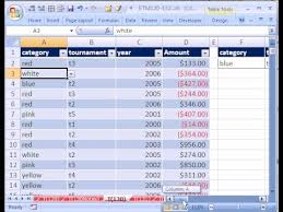 Excel Magic Trick 130 3 Dimensional Database In Excel