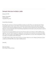 How To Invite A Candidate Interview An Email Template Reply