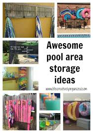 pool storage ideas. Fine Ideas Looking For Pool Storage Ideas Itu0027s Hot If You Have A Pool I Bet Itu0027s  Getting Lot Of Use Now Here Are Awesome Ideas To Keep It Organized Throughout Pool Storage Ideas Pinterest