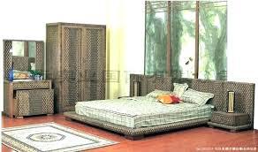 white wicker bedroom furniture. Wicker Bedroom Furniture Sets Rattan Vibrant White E