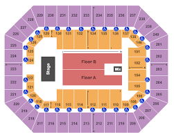 Raising Canes River Center Arena Seating Chart Baton Rouge