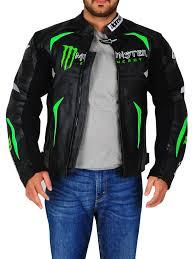 biker jacket for men harley davidson leather jacket honda yamaha monster energy