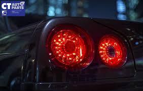 R34 Gtr Rear Lights Details About Smoke Red Led Tail Lights Nissan Skyline R34 Gts T Gt R Gt T Rb25det Rb26dett