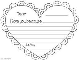 Valentines Day Letter Template Valentines Day Letter Template Barca Fontanacountryinn Com