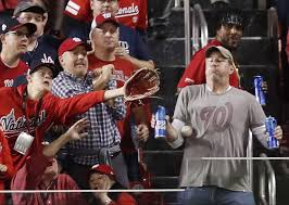 World Series Bud Light Is Sending The Beer Holding Fan To