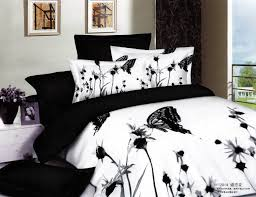 white and black bed sheets. Exellent White Elegant Butterfly Bedding Black And White 3d Oil For Floral Comforter Set  Inspirations 12 Throughout Bed Sheets
