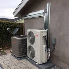 heat pump and central air unit