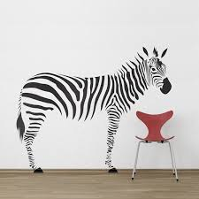 zebra wall decal photography gallery sites urban wall decals
