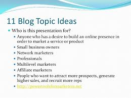 blog topic ideas for internet marketers how to get leads by bloggi 2 11 blog topic ideas