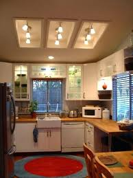 track kitchen lighting. Replace Track Lighting Fluorescent Light Fixture In Kitchen Remodel Can You P
