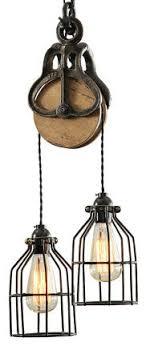pulley lighting. brilliant lighting barn pulley pendant light industrialpendantlighting for lighting