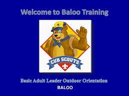 Basic adult leader outdoor orientation manual