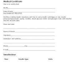 Types Of Medical Certifications Medical Fitness Certificate Format Doc Copy Medical Certification