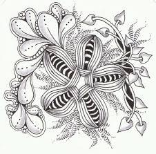 Zentangle Patterns Easy Custom Design Inspiration