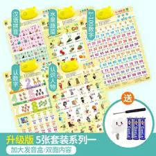 Chinese Sound Chart Maobeile Children Audio Chart Early Childhood With Numbers Baby Learn To Read Learn Chinese Pinyin Sound Making Alphabet 0 3 Year Old